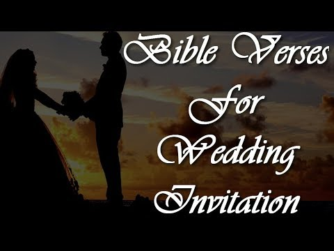 5 Bible Verses for Wedding Wishes | Bible Verses for Wedding Cards | Biblical Quotes