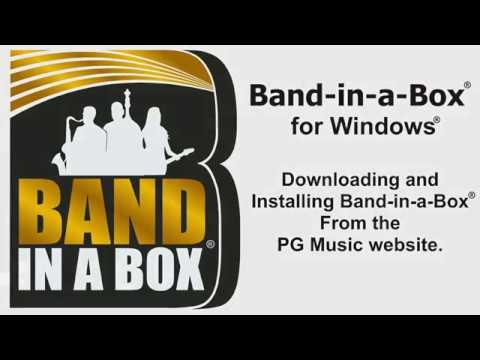 free download band in a box 2011 for windows