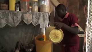 Kenia: schoon blijven in een sloppenwijk
