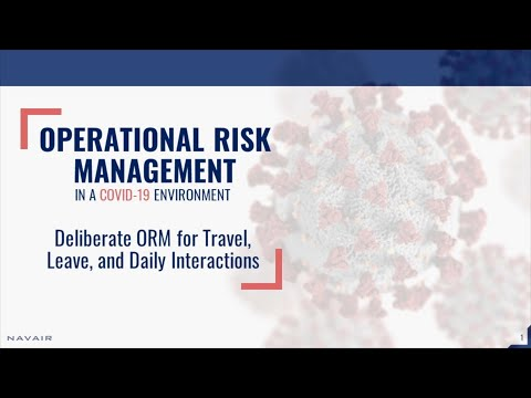 Operational Risk Management In A COVID-19 Environment