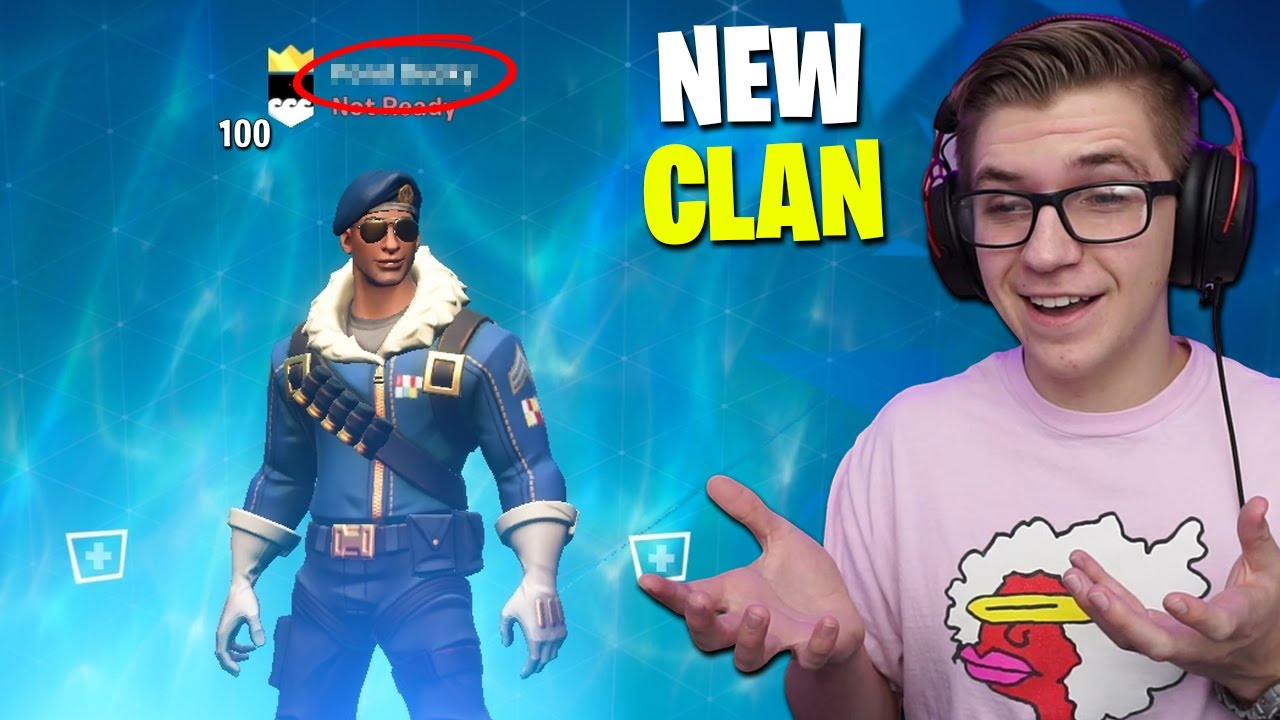 Complexity Fortnite Clan My New Fortnite Mobile Clan How To Join Youtube