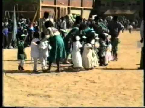 Eritrea,Asmera school kids at La Salle 1992