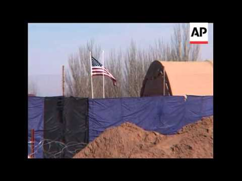 FILE Of US Base Kyrgyz Government Plans To Close Down