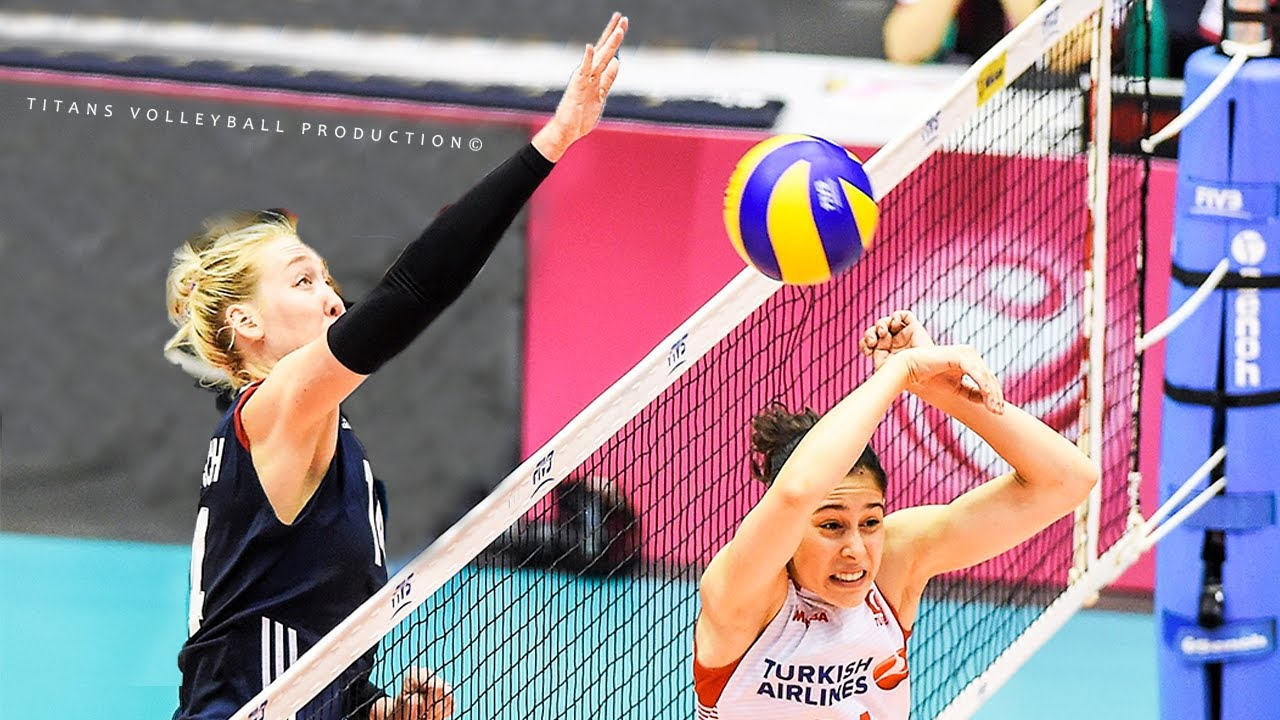 Top 20 Free Ball Volleyball Attack - Surprise Volleyball Attack | Women's VNL 2018