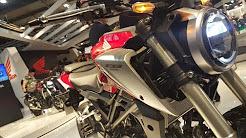 Eicma 2017 : CB125R, la petite qu'il manquait chez Honda