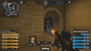 FaZe vs Vitality - ESL Pro League S10 - CS:GO