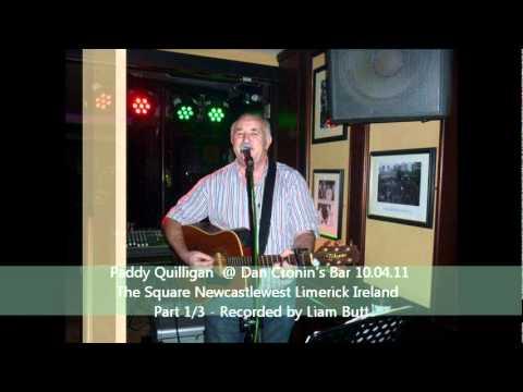 Paddy Quilligan at Dan Cronin's Bar The Square Newcastlewest Limerick Ireland - 10th April 2011