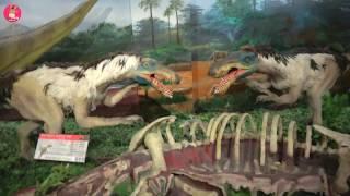 거대 공룡 화석 늑대인간 에일리언 등장! 공룡대탐험 쥬라기 키즈 카페 놀이 동산 ♡ 안면도 쥬라기공원 어린이 놀이 dinosaur park | 말이야와아이들 MariAndKids