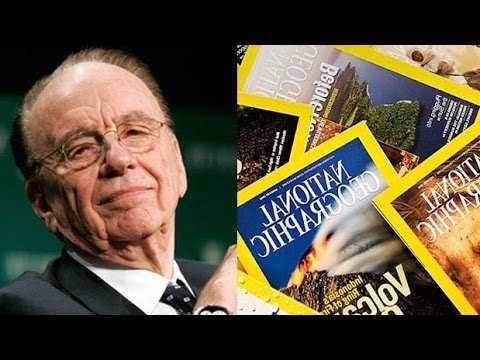 National Geographic Gutted By Rupert Murdoch After Fox Takeover