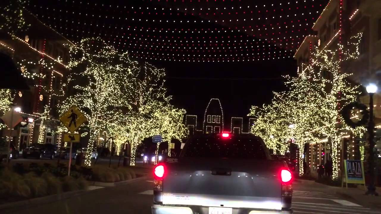 Christmas Lights At Frisco Square