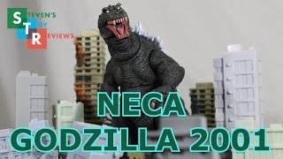 "NECA GMK Godzilla 2001 12"" Head to Tail Review"