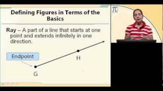 Geometry Lesson 1 - Building Blocks Of Geometry