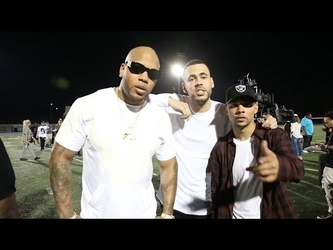 Flo Rida & 99 Percent - Cake (Behind The Scenes)