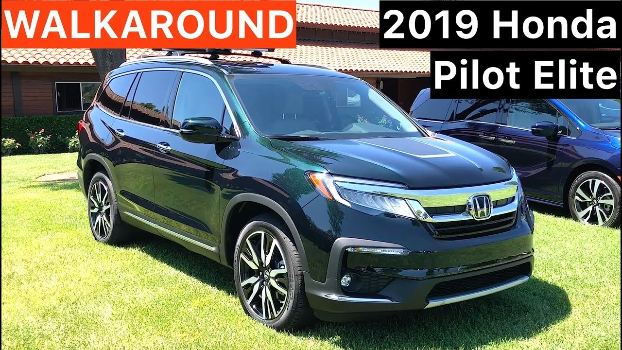 2019 Honda Pilot Elite Walkaround