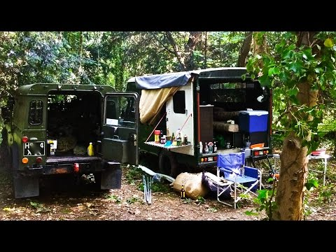 Bug out vehicle weekend in the woods aug 15