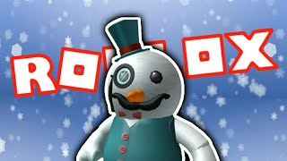 ROBLOX INDONESIA-SNOWMAN IS FUNNY