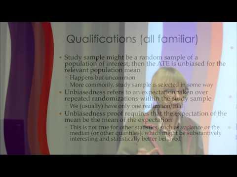 Nancy Cartwright: Understanding and misunderstanding randomized controlled trials