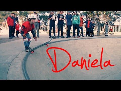 Daniela - campeonato skate Martorell 2015