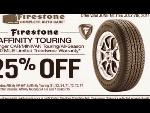 Get Latest Firestone Coupons And Rebates 2015
