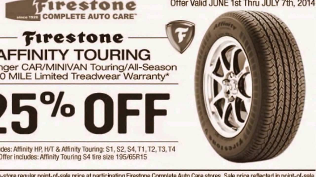 Get Latest Firestone Coupons And Rebates 2015 Youtube