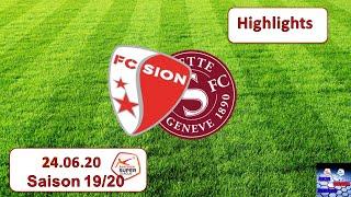 Highlights: Fc Sion Vs Servette - Genf Fc