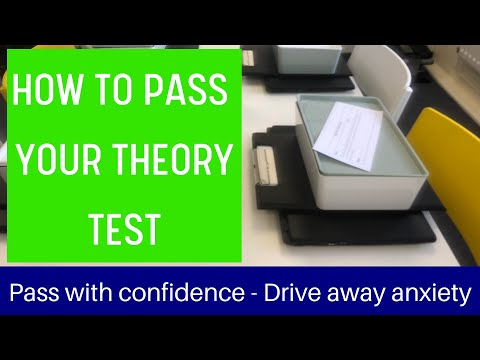 How To Pass Your Theory Test: (2020)