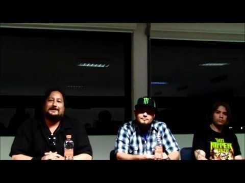 TIM RIPPER OWENS - conferencia de prensa 2016 CDMX |Metal Corrosivo