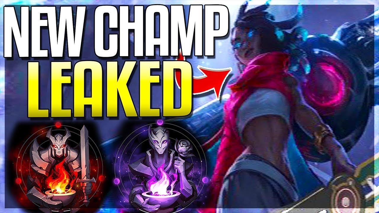 Riot Leaked NEW ADC CHAMPION Aphelios! New