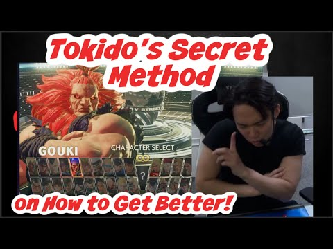 """Tokido's Secret Of How To Get Better At Fighting Games. """"I'm Not Sure If I Reveal This To You..."""""""
