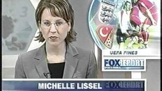 Fox Sports World Report - segment 1 of 6 (2003)