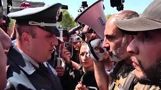 Նիկոլ Փաշինյանի «ինքնաբուխ» երթը ուղղեկցում են ոստիկանները