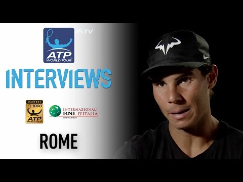 Interview: Nadal Focused On Present In Rome 2017
