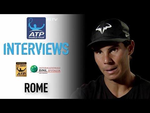 Nadal Focused On Present In Rome 2017