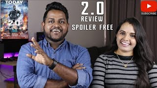 2.0 Review | Spoiler Free | Malaysian Indian Couple | Rajinikanth | Amy Jackson | Shankar