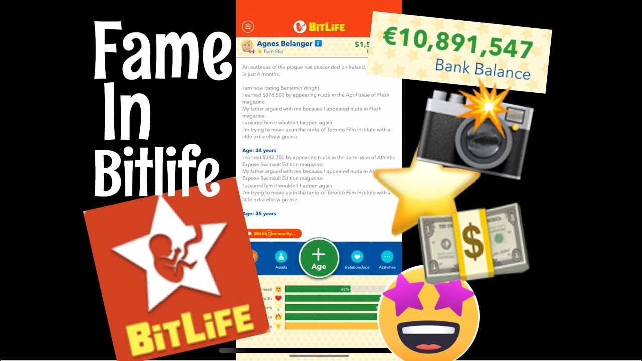 Bitlife How To Become Famous Become An Actor Or Social Media Star