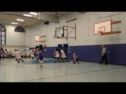 Salk v Perth Amboy Middle School Girls Basketball (Aisha 20 point game!)