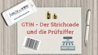GTIN - Der Strichcode und die Prüfziffer