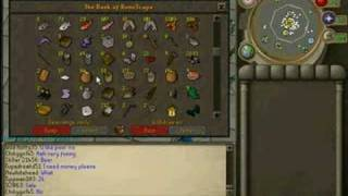A novice runescape bank