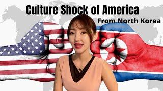 North Korean Girl's Culture Shock in America