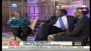JKL: Talented Georgine Unleash Sign-names of prominent personalities on Jeff Koinange Live