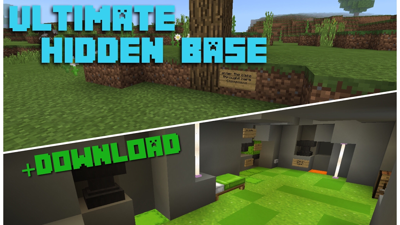 minecraft bunker map free download