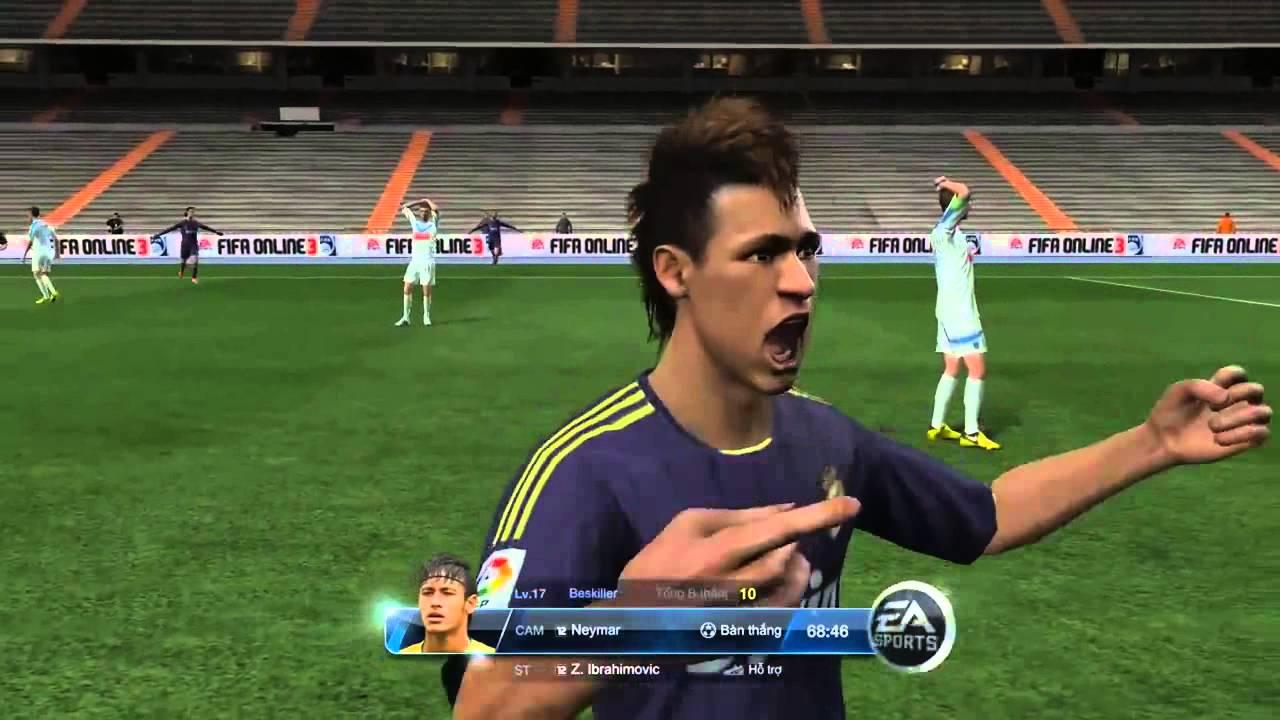 InfoGame.vn - Hướng dẫn ăn mừng bàn thắng tại FIFA Online 3