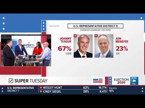 Live KHOU coverage: Super Tuesday results, analysis