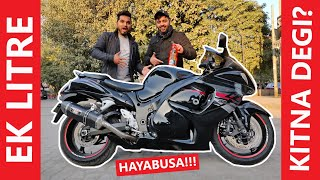 HAYABUSA Mileage Test !! Shocking Result