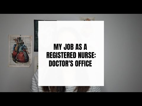 MY RN JOB AT A DOCTOR'S OFFICE | STYLES BY NGOC