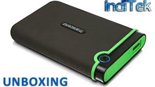 Transcend StoreJet 25M3 USB 3 1TB Hard Drive Unboxing thumbnail
