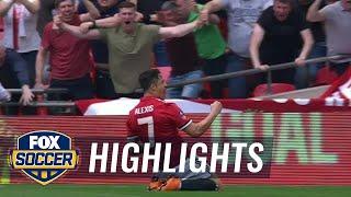 Manchester United vs. Tottenham Hotspur | 2017-18 FA Cup Highlights