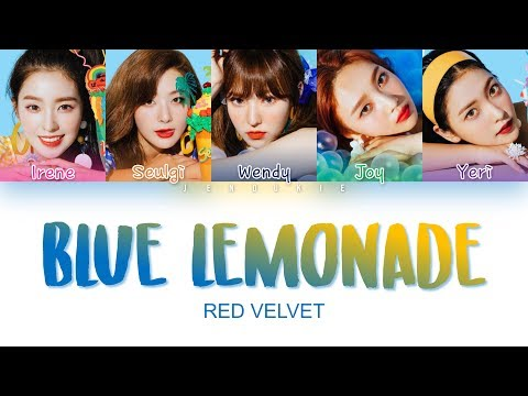 Red Velvet (레드벨벳) - 'Blue Lemonade' Lyrics (Color Coded Han|Rom|Eng)