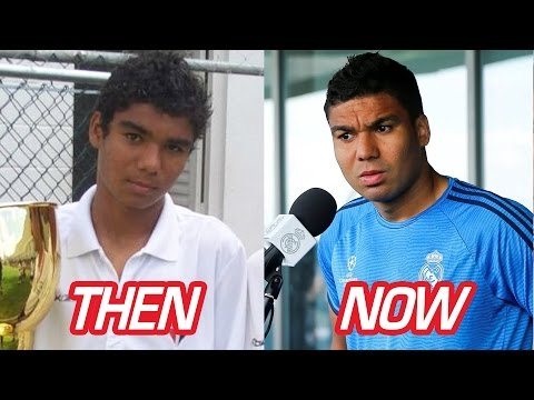 Casemiro Transformation Before And After (Body & Hairstyle & Tattoos) | 2017 NEW