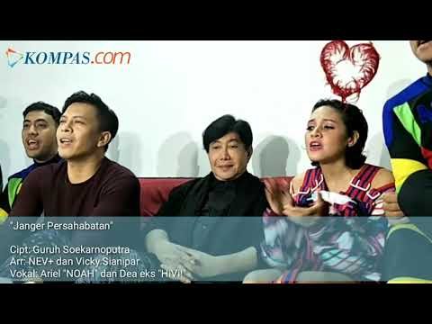 "Ariel NOAH, Dea Eks ""HiVi!"", Dan NEV+ Bawakan Official Song Asian Games 2018"